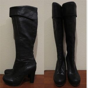 Free People Liv Cuff Boot by Frye knee high fold